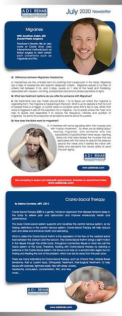 1 ADI REHA0 ADI Rehab Newsletter July 20