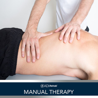 0 ADIrehab Services 3.0 5 Manual Therapy