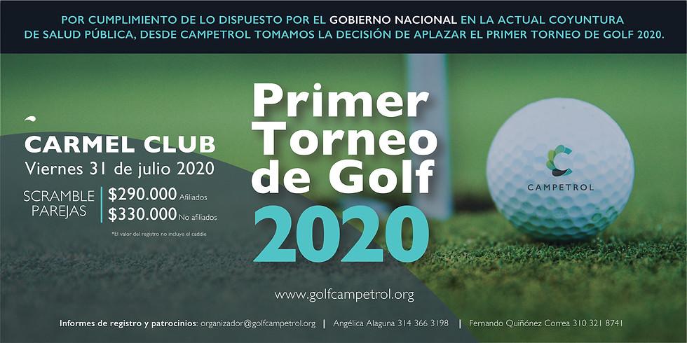 Primer torneo de golf 2020 Campetrol
