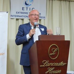 Welcome speech - Extreme Travelers International Congress