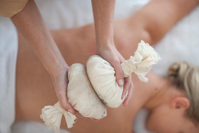 Pierres de massage