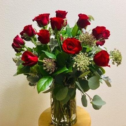 Valentine's - One Dozen Roses