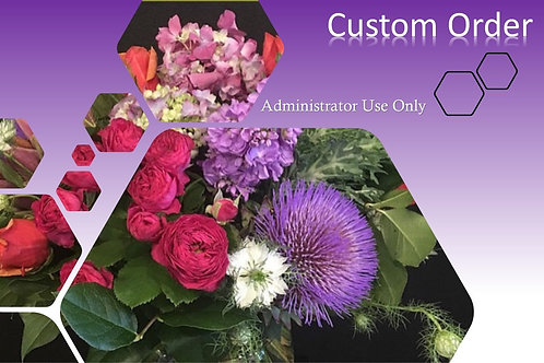 Custom Order Admin Only
