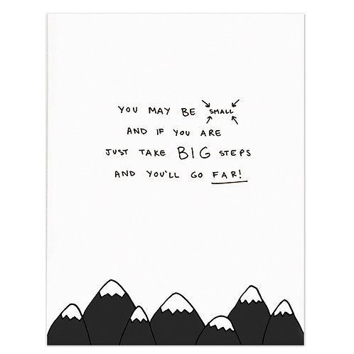 Mountains Poem Print