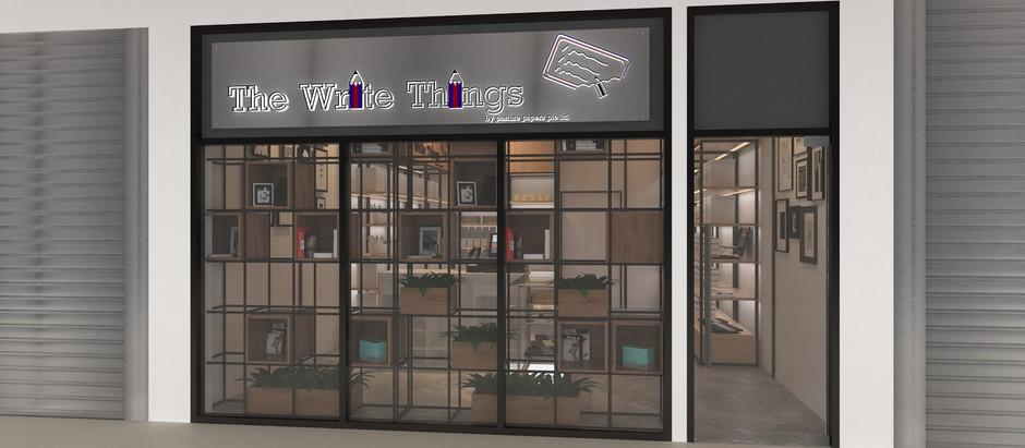 Woodlands Stationary Shop Design