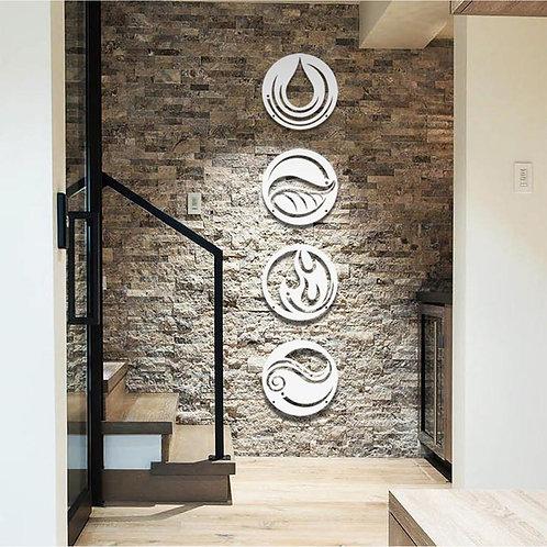4 Elements Wall Decors Bundle