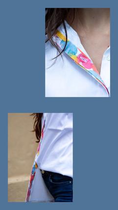 white blouse zeili art
