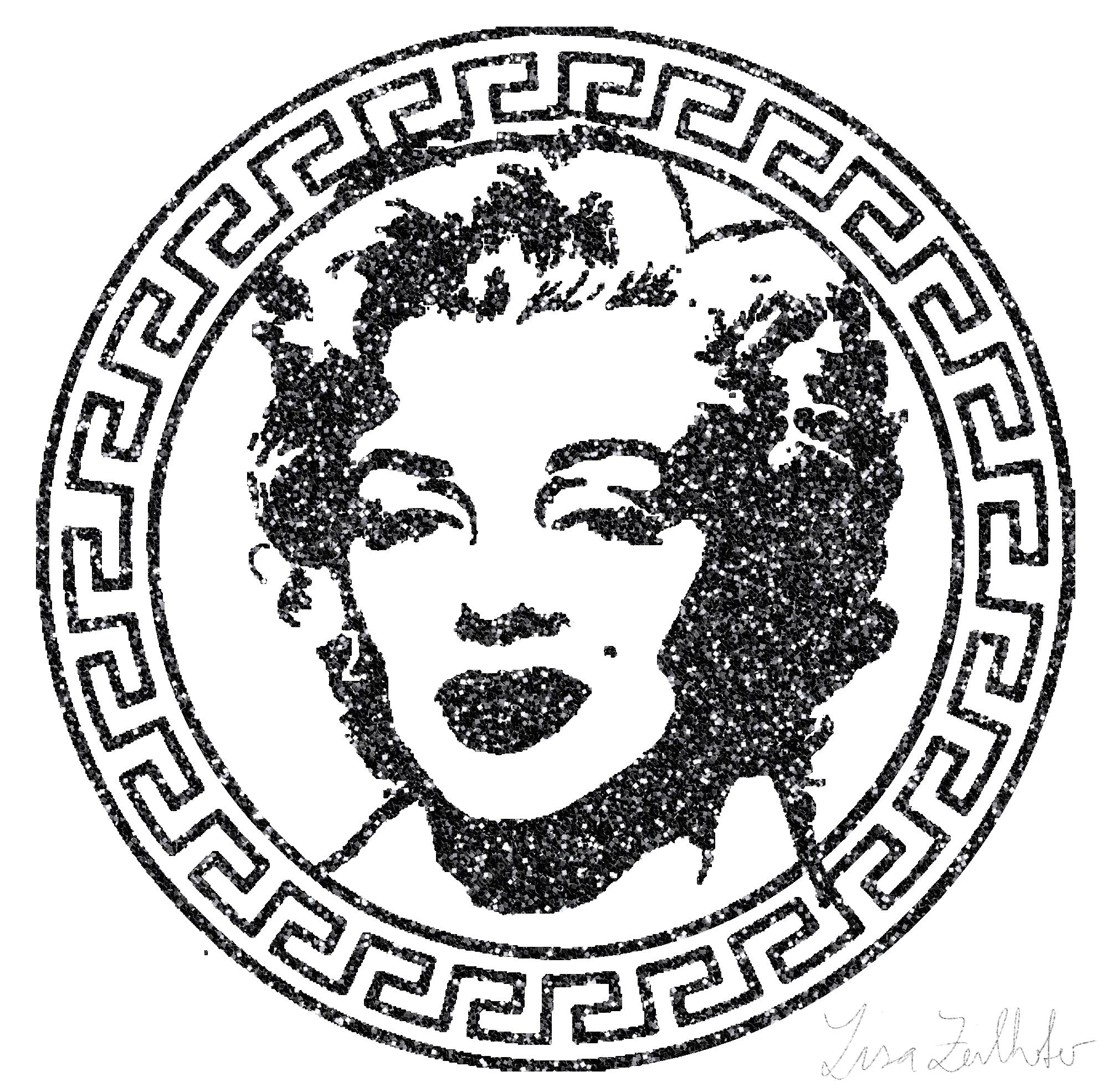 Medusa Marilyn II Glitter