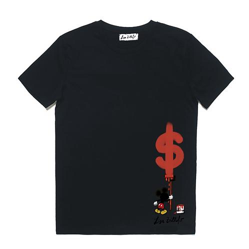 Money Shirt - limited edition with unique art print
