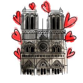 Notre Dame- zeiliart