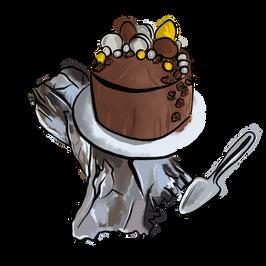 Kuchen Illustration