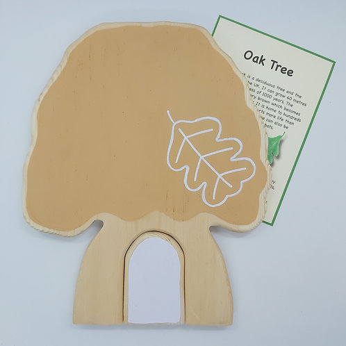 Oak Tree Keeper House - Autumn