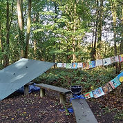 Forest School Reading area.jpg
