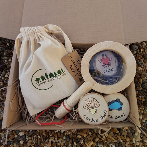 Beach Scavenger Hunt Gift Set