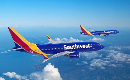 Southwest Airlines Orders 100 Boeing 737 MAX Jets, Plus 155 Options