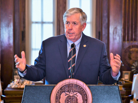Governor Mike Parson expands special session call to include COVID liability protection
