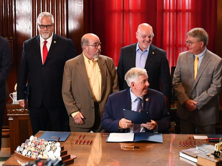 COVID liability protection bill signed into law today by Gov. Mike Parson