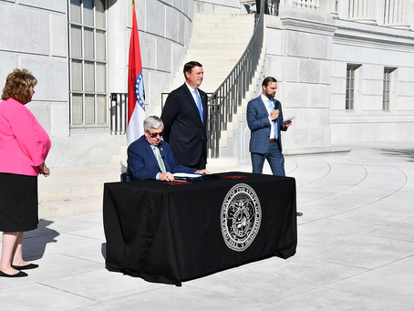 Governor Parson signs HB 271 regarding local public health orders and vaccine passports