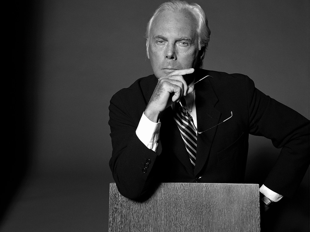 Giorgio Armani, fashion, wealthiest fashion designers 2020, affectmag