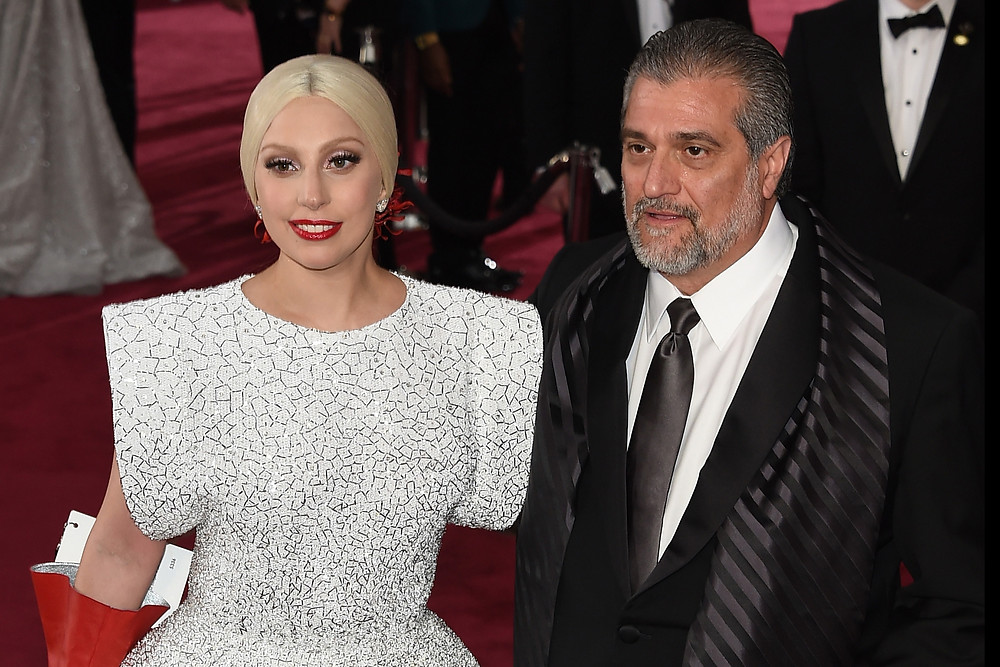 Lady Gaga and father, Fathers Day, Oreos