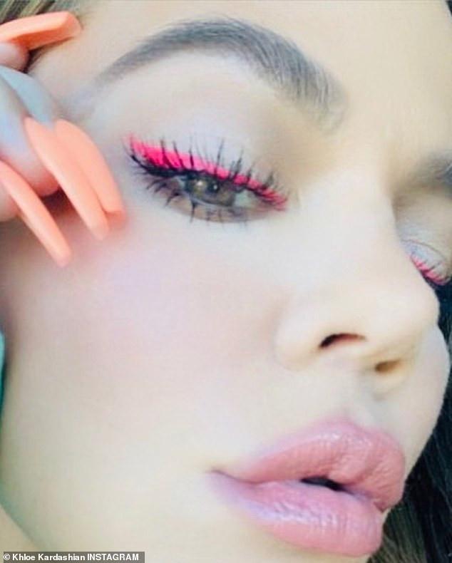 Khloe Kardashian on Instagram