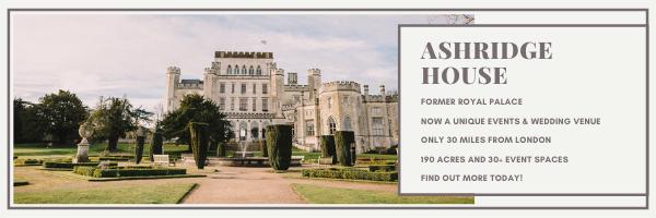 Ashridge House, corporate events, wedding event venues