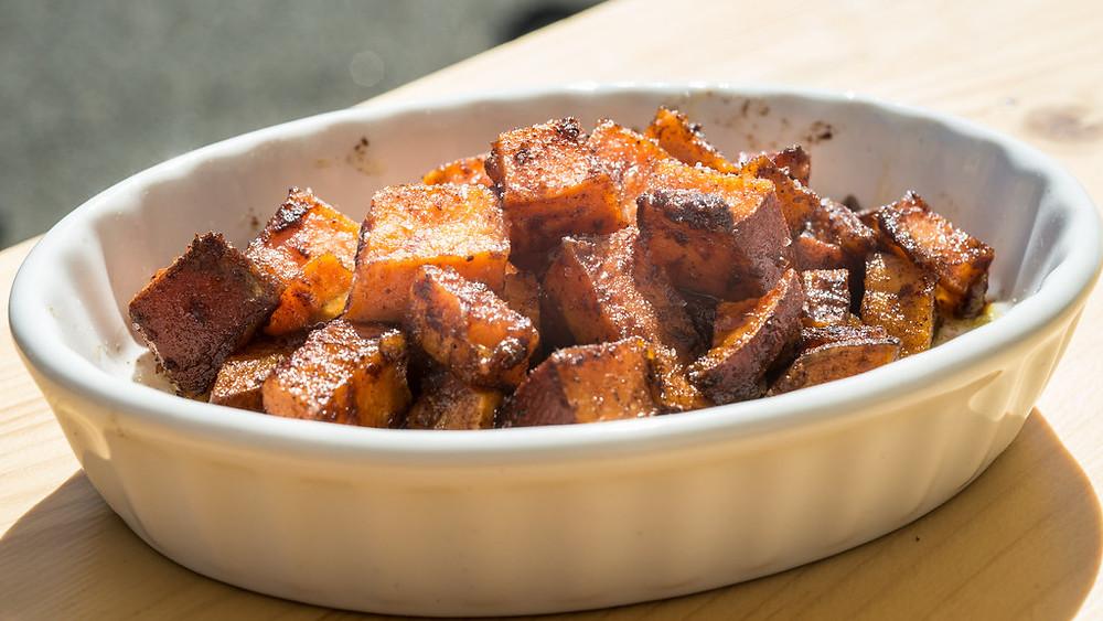 Honey roast potatoes, easy recipes, quick recipes