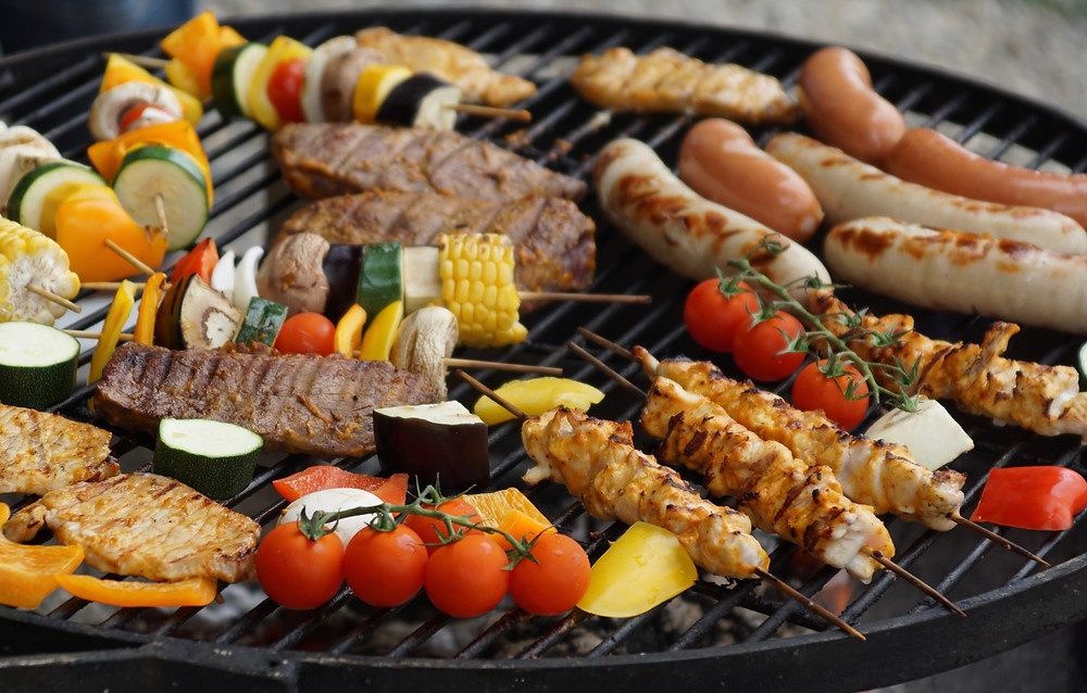 BBQ, English Garden and Antiques