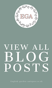 English Garden and antiques blog