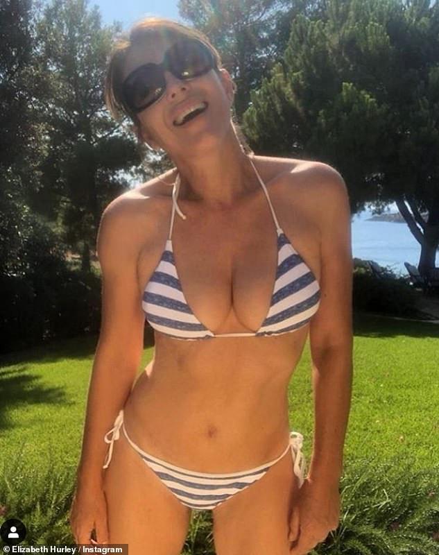 Celebrity News: Elizabeth Hurley looks stunning in her latest bikini Instagram