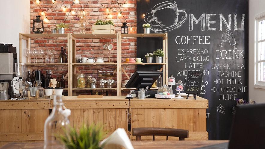 Coffee Shop, shopping