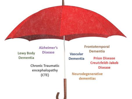 Dementia is an Umbrella Term