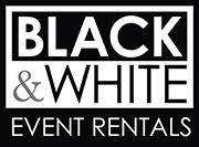 Black & White Event Rentals