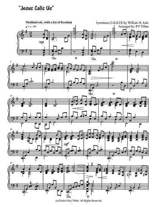 Piano Prelude-Jesus Calls Us