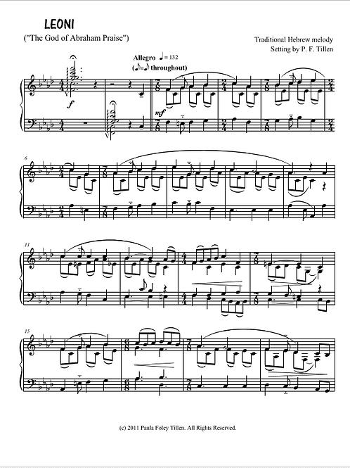 Piano Prelude on LEONI