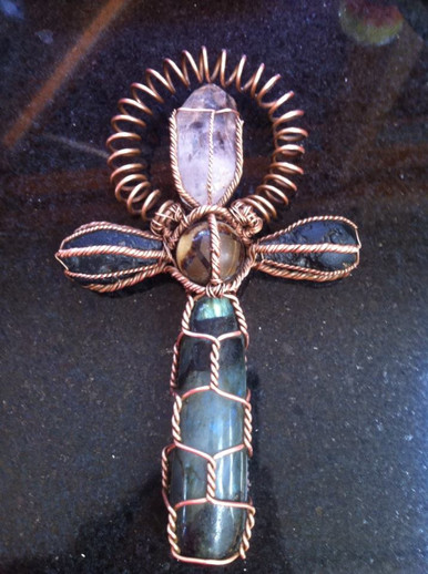 Crystal Synergy Ankh