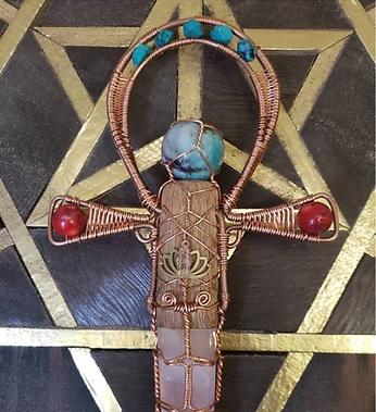 Sacred Lotus Ankh