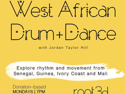 West African Drum & Dance Class