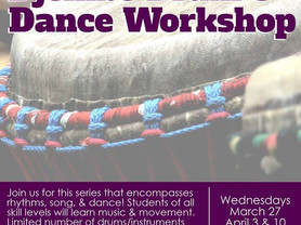Drum & Dance Workshop Today