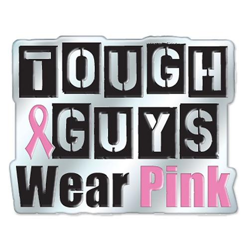 Tough Guys Wear Pink Lapel Pin
