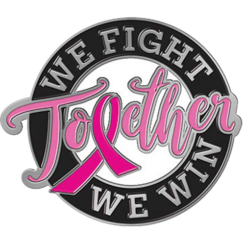 We Fight Together We Win Lapel Pin