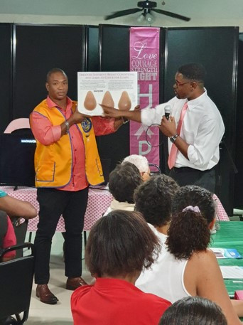 Dr Robinson Giving Presentation on BCA.j