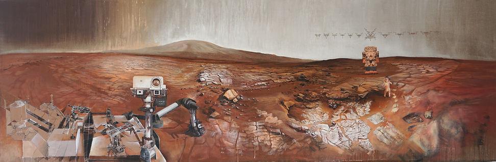 Mars, Nasa, curiosity rover, gale crater, mount sharp, coatlicue, aztec statue, biomorph, richard dawkins