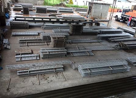 Piso 1 - Fabricação de Treliças