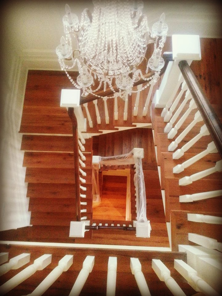 Antique Oak Staircase