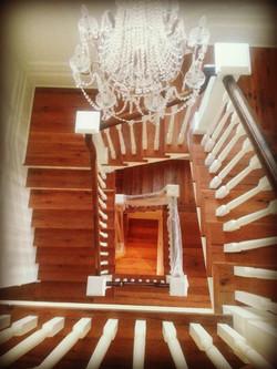 Antique Oak Staircase
