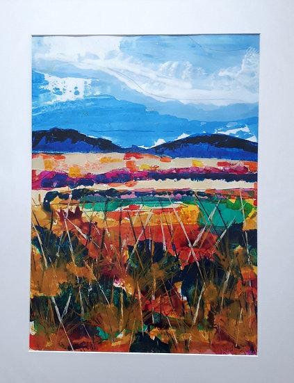 Original Painting - Looking across Loch Long II