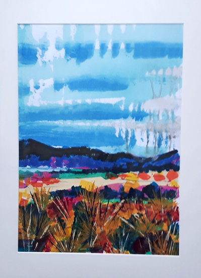Original Painting - Showers on the Hills
