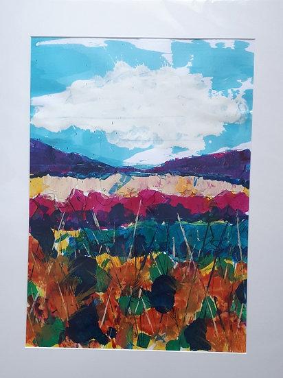 Original Painting - Looking across Loch Long