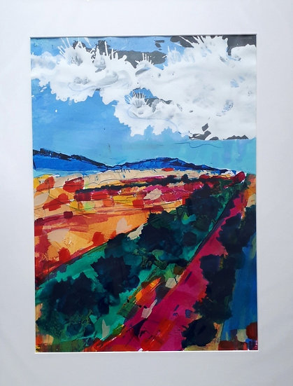 Original Painting -Argyll Hills